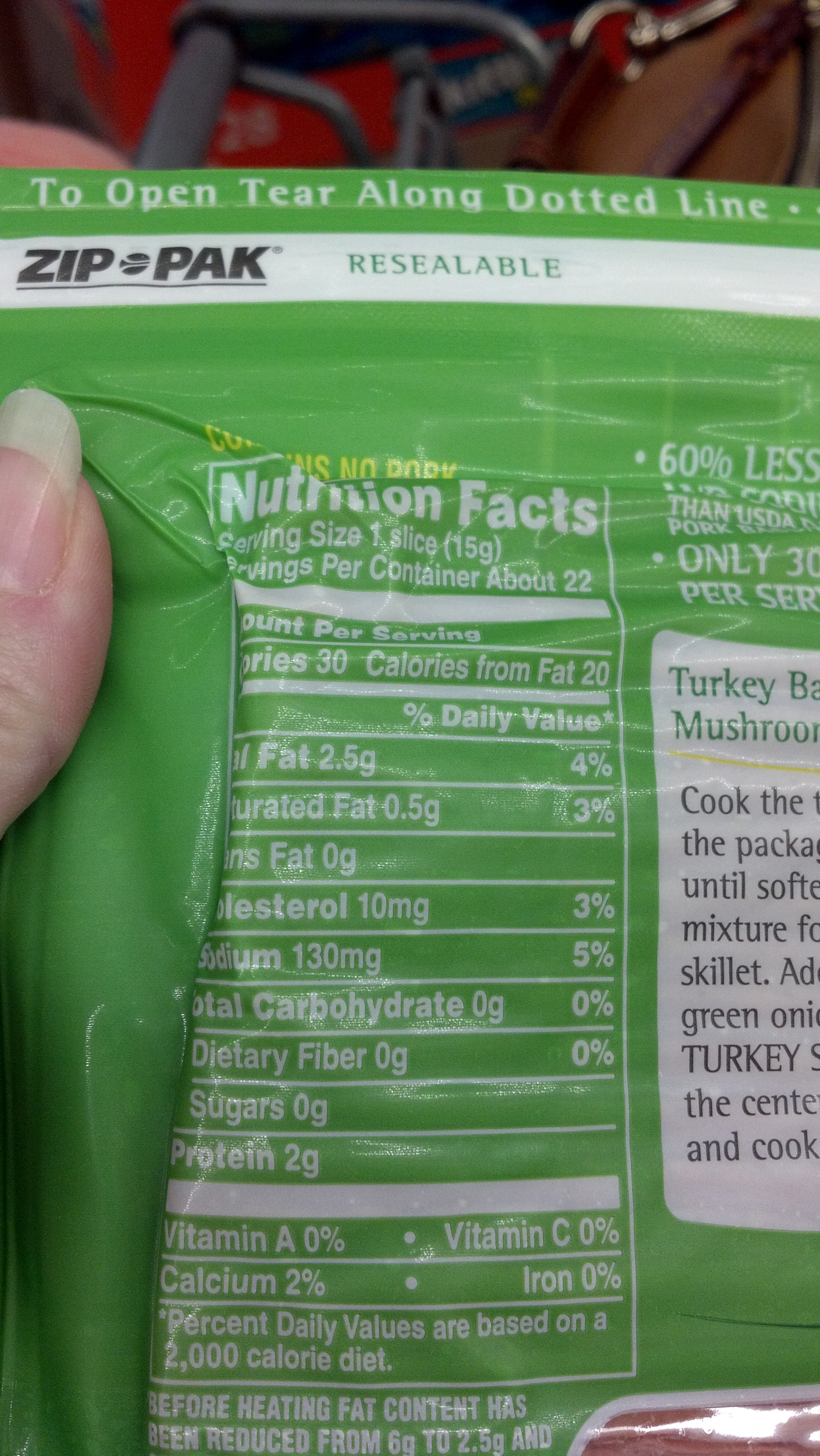 Mo S Kitchen Nutrition Facts